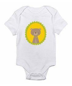 Another great find on #zulily! White Bear Bodysuit - Infant #zulilyfinds