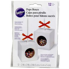 Wilton® Pops Gift Box, Single Cavity