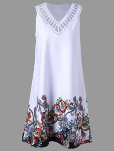 Ladder Detail Floral Sleeveless Dress 2019 Ladder Detail Floral Sleeveless Dress White The post Ladder Detail Floral Sleeveless Dress 2019 appeared first on Chiffon Diy. Vintage Formal Dresses, Trendy Dresses, Cute Dresses, Stylish Outfits, Casual Dresses, Fashion Outfits, Summer Dresses, Floral Dresses, Chiffon Dresses