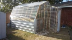 Ana White   Barn Greenhouse with Entryway - DIY Projects