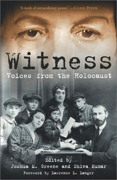 Haunting and Intriguing. Stories from Holocaust survivors and their amazing accounts of strength, integrity, and courage!