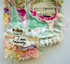 stitch therapy: did you know being a neurotic woman is a full time profession?