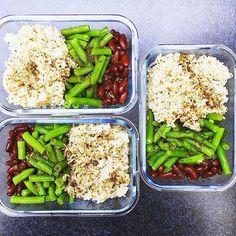 """Gefällt 130 Mal, 4 Kommentare - Sarah Tschernigow (@no_time_to_eat) auf Instagram: """"I love Mealprep ❤️ Danke @mariechenlou für diese tolle vegan 🌱 Mealprep Inspiration 🙏 So einfach…"""""""