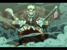 Uzumaki Naruto is HERE v2 by kyubisharingan.deviantart.com on @deviantART