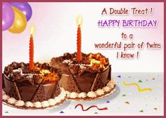 Happy Birthday Twin Sister Wishes For Twins
