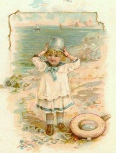 Helen Jackson - English (1855-1911) - vintage postcard