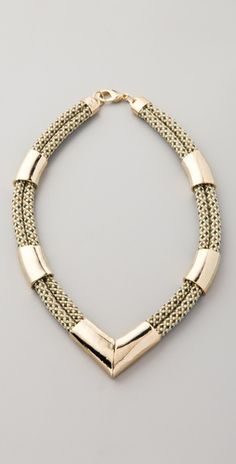 Orly Genger by Jaclyn Mayer Koko Threadwork Necklace