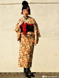 【うさぎ小町】アンティーク着物屋さんのコーディネート
