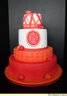 This cake is so adorable! It's not my favorite cake out of all of the other cakes but I love the colors. It would not be my first pick for a birthday cake, though.