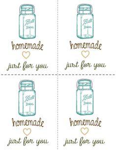 Printable Homemade Tags - Homesteading