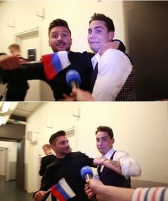 Eurovision Song Contest 2016 - Sergey Lazarev - Russia,douwe bob-netherlands