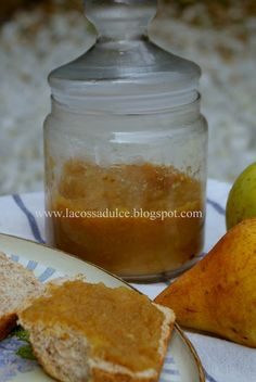 La cossa dulce: Mermelada ligera de pera y manzana Cocina Light, Dessert Recipes, Desserts, Cantaloupe, Fruit, 3, Food, Apple Jam, Dessert Food