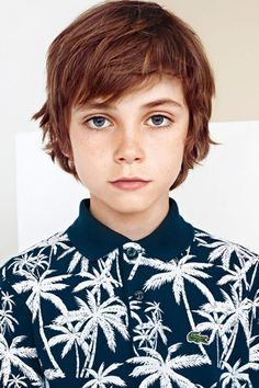Coupe garçon : coupe garçon modèle avec frange - Coupe garçon : 55 coiffures pour un petit garçon trop mignon !