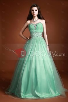 smart clear.Luxurious Floor-Length Beading Sequins Sweetheart Luba's Ball Gown/Prom Dress : Tidebuy.com