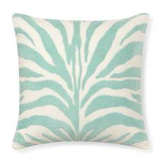 Williams-Sonoma Velvet Applique Zebra Pillow Cover ($60) ❤ liked on Polyvore featuring home, home decor, throw pillows, striped throw pillows, zebra throw pillows, velvet throw pillows, zebra home decor and zebra home accessories