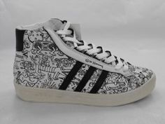 Adidas Adicolor High Black BK2 Keith Haring Jeremy Scott Jeremy Scott Adidas, Keith Haring, Pop Art, Adidas Sneakers, Porn, Fashion Outfits, Couture, My Style, Vintage