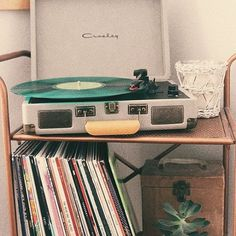 Shop Shop at Urban Outfitters. Vinyl Record Player, Record Players, Vinyl Records, Fotografia Retro, Vinyl Music, Retro Aesthetic, Music Aesthetic, Door Design, My Room