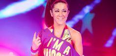 WWE Bayley Wearing Rocktape