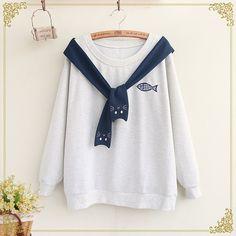 Fairyland Embroidered Sweatshirt | YESSTYLE