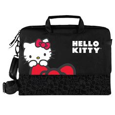 Hello Kitty Padded Laptop Case - Black