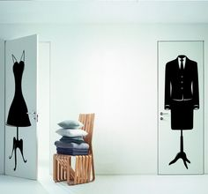 Get Fashion on your walls #fashion #Decoration #Style #Lifestyle #mode #House #DIY #Wallstickers #Trend #Trendy #spiceUP