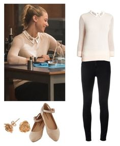 Betty Cooper - Riverdale by shadyannon on Polyvore featuring polyvore fashion style Ted Baker J Brand Dower & Hall clothing