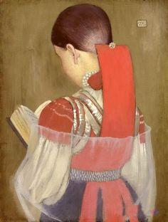 pintura de  Marianne Stokes