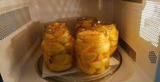 Gyors őszibarack befőtt mikróban, több éve így készítem! - Egyszerű Gyors Receptek Evo, Vegetables, Vegetable Recipes, Veggies