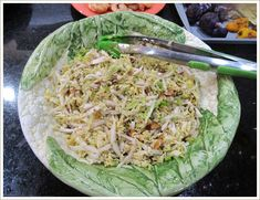 Salads: Chinese Cabbage Salad from PrettyFood.com