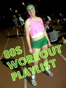 Embrace your inner 80s workout music superstar with this totally rad 80s workout playlist!