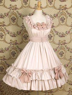 classical handmade lolita dress cute~trendy rare~nice chaste~vintage~fashion