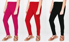 Leggings & Tights Classy Girls Leggings  Fabric: Cotton Pattern: Solid Multipack: 3 Sizes:  4-5 Years (Waist Size: 21 in Length Size: 25 in)  5-6 Years (Waist Size: 22 in Length Size: 27 in)  6-7 Years (Waist Size: 24 in Length Size: 29 in)  7-8 Years (Waist Size: 26 in Length Size: 31 in)  8-9 Years (Waist Size: 28 in Length Size: 33 in)  10-11 Years (Waist Size: 30 in Length Size: 35 in) Country of Origin: India Sizes Available: 4-5 Years, 5-6 Years, 6-7 Years, 7-8 Years, 8-9 Years, 9-10 Years, 10-11 Years   Catalog Rating: ★4 (1242)  Catalog Name: Classy Girls Leggings CatalogID_2140477 C62-SC1157 Code: 882-11411444-216