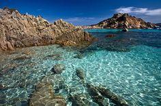 ...the water of Sardinia