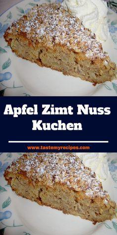 No Bake Desserts, Delicious Desserts, Baking Recipes, Cake Recipes, German Baking, Hazelnut Cake, Sweets Cake, Easy Bread, Recipes From Heaven