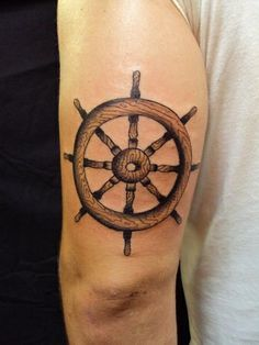 ... (please), a buddy of mine had this done a while ago: Ship Wheel