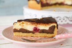 Sallys Rezepte - Schokoladen Käsekuchen mit Schokoladenguss