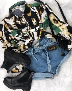 Dress Outfits, Cool Outfits, Fashion Outfits, Womens Fashion, Dresses, Fashion Tips, Looks Rockabilly, Estilo Hip Hop, Teen Girl Outfits