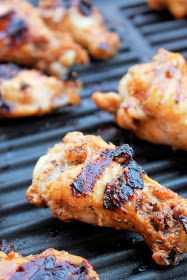 Creole Contessa: Grilled Sriracha Wings