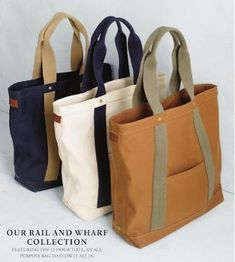 with solid handles (selection) / Bags, clutches, suitcases / SECOND STREET . Sacs Tote Bags, Denim Tote Bags, Diy Tote Bag, Canvas Tote Bags, Bag Patterns To Sew, Shopper Bag, Handmade Bags, Bag Making, Fashion Bags