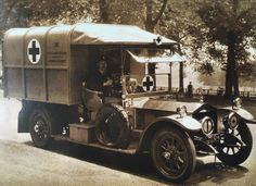 Chassis 60955 (1909) re-bodied Ambulance