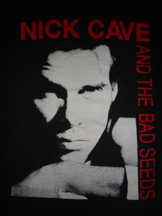 Vintage 1990s Nick Cave And The Bad Seeds T by TwistedFabrics