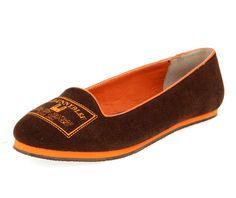 Brown Bunny Stamps Loafers $44.00 www.lebunnybleu.com