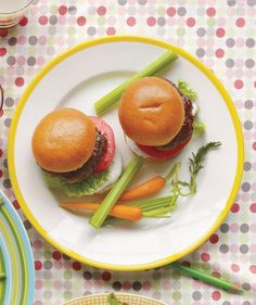 Serve up a crowd-pleasing favorite as an appetizer to get the party started. Kids and adults alike will love these sliders dressed up with ranch dressing (and who doesn't love ranch?) The small bites aren't that messy to eat while mingling and won't leave guests feeling too full to enjoy the main course.