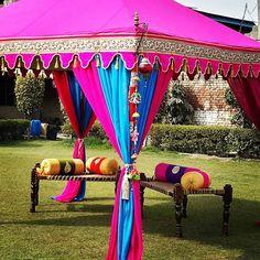Beautiful Indian Charpai #woodenfurniture traditional #manji #khaat #daycot #charpai #wovenbench #wovencot #wovenbed #weddingdecoration #indiancots @indiantents