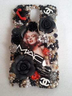 Marilyn Monroe RED Mac Handmade Made to Order Cell Phone Case Homemade IPhone 4 5 Samsung 2 3 on Etsy, $32.98