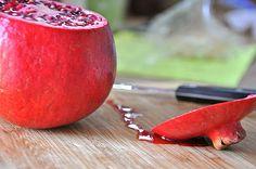 how to prepare a pomegranate