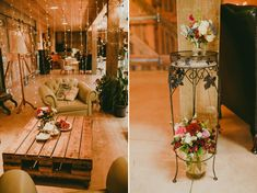 Wedding Reception - An Elegant Spring Vintage Wedding