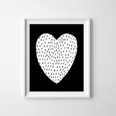 Black and white, nursery art decor, Scandinavian printable, monochromatic art, You are my heart, downloadable art, instant download by MiniLearners on Etsy https://www.etsy.com/uk/listing/213168425/black-and-white-nursery-art-decor