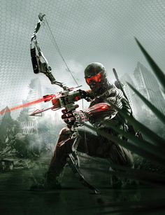 Crysis 3 Cover Art by ~EA-Studio on deviantART  Auction your comics on http://www.comicbazaar.co.uk