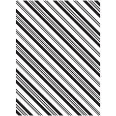New - Darice® Embossing Folder - Diagonal Stripes - 4.25 x 5.75 inches, scrapbooking, card making, greeting cards, invitations and more #ScrapbookSupplies #HandmadeCards #CardMaking #stamping #embossing #dies #scrapbooking #emboss #DariceEmbossing #EmbossingFolder